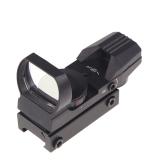 Holographische 4 Leuchtabsehen Electro rot/grün Dot Reflexvisier Anwendungsbereich mit Mount Jagd taktische 33 * 22mm Combat Militär