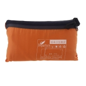 Lixada Saco de Dormir Ultra-light Individual Poliéster Pongis Sano Transatlántico Portable de Campamento Viaje (Naranja)