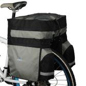 ROSWHEEL 60L Radfahren Fahrradtasche Fahrrad Double Side Heckgepäckträger Sitz Trunk Bag Pannier