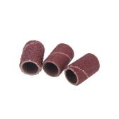 150pcs/пакет шлифовальной ленты для # 80 120 # 180 для дрель ногтей маникюр педикюр машина # каждый размер 50шт