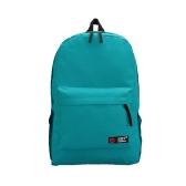 Casual mujeres mochila caramelo Color sólido escuela bolso bandolera azul que viaja