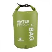 5L viaje al aire libre ultraligeros Rafting bolsa seca impermeable piscina