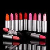 12pcs/conjunto lustroso o bálsamo labial Rouge fácil para usar batom 12 cores moda mulheres beleza maquiagem