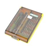 No.8913 45 in 1 Mehrzweck-Präzisions-Schraubendreher-Satz Handy PC TV Elektronik Reparatur Hardware-Tool-Kit