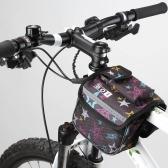 BOI ciclismo bici biciclette tubo superiore anteriore telaio Pannier doppio sacchetto sacchetto