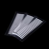 30 par impermeável pálpebra dupla invisível adesivos 3D lados dupla pálpebra linda fita beleza maquiagem ferramenta