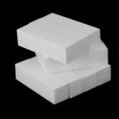 10 個入り白バッファー ブロック アクリルネイル アート ケアのヒント ファイル ツールを研磨