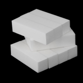 10pcs Buffer branco bloco acrílico Nail Art cuidados dicas arquivos ferramenta de lixamento