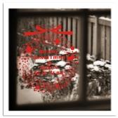 クリスマスの装飾の取り外し可能な壁のステッカー アート デカール壁画 DIY 壁紙部屋ガンダムデ カール 42 * 46 cm