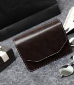 Retro Damen Schultertasche PU Leder magnetischer Knopf Crossbody Messenger Bag
