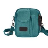 Neue Mode Männer Frauen Canvas Bag Zip Taschen lässig Unisex Messenger Schultertasche Crossbody