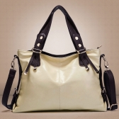 New Fashion Women Handbag PU Leather Classic Shoulder Crossbody Bag Tote