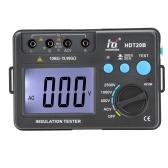 HD HDT20B isolamento resistenza Tester misuratore megaohmmetro voltmetro 2500V w / retroilluminazione LCD