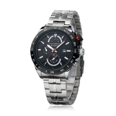 CURREN 8148 Fashion Business Herren Armbanduhr wasserdicht Edelstahl Analog Kalender Datum Quarzuhr