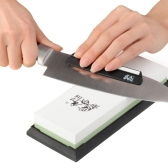 TAIDEA Piedra afiladora 3000/8000 grano combinación corindón piedra de afilar de doble cara cuchillo afilado de piedra para cocina sushi cuchillos