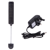 Aquarium Fish Tank Water Plant 48 LEDs 3W Clip Light Lighting Lamp 2 Working Modes White & Blue  Flexible