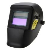 Solar Oscurecimiento Automático de soldadura Casco de Molienda Capucha Máscara
