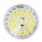 24 SMD 5050 LED Light Lamp Bulb Spotlight 5W GU10 220V-240V Energy-saving Warm White