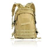 Im freien Molle Militär taktische Rucksack Rucksack Camping Reisen Wandern Trekking Bag 40L Erde