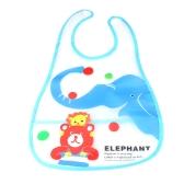 Lindo elefante bebé babero infantil Saliva toalla impermeable Unisex con bolsa