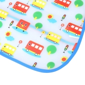 Cute Baby Bib Infant Saliva Towel Waterproof Unisex with Pouch