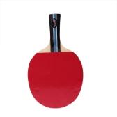 Langer Griff Shake Hand Tischtennis Schläger Ping Pong Paddel + Wasserdichte Tasche Beutel Blau