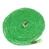 100 pies ultraligero Flexible 3 X conector de llave + conector rápido, manguera de jardín extensible agua mágica + boquilla multifuncional