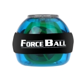 Gyroskop LED Handgelenk Power Force Ball Grip Ball Arm Muskel Übung Verstärker Speed Meter blau
