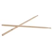Par de baquetas madera de arce de 5A palillo de tambor Set profesional ligero