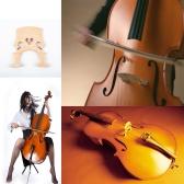4/4 dimensione violoncello ponte acero squisita fattura