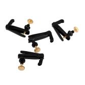 4pcs violino tiracantino Aggiustatore rame placcatura viti per 3/4 4/4 Size Accessori violino