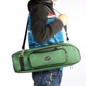 600D 防水 楽器アクセサリ 調整可能なストラップ   ギグバッグバックパック ポケット ケース 5mm 綿パッド入りトランペット対応   3色選択可能【並行輸入品】