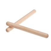 Andoer® Par de Ritmo Pega Abedul Musical Juguete Regalo para los Niños Instrumentos de Percusión