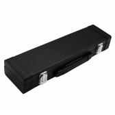 Portable Gig Bag Box Leather for Western Concert Flute with Buckle Foam Cotton Padded