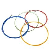 Corde per basso elettrico colorato di Alice A609C esagonale Core nichel lega ferita