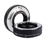 Viltrox Macro AF Auto Focus Extension DG Tube 10mm 16mm Set Ring Metal Mount for Micro M4/3 Camera Olympus E-P1 E-P2 E-PL1 E-PL2 Panasonic G1 GF1
