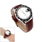 MG· ORKINA lujo Unisex reloj de pulsera analógico de cuarzo resistente al agua calendario fecha reloj estilo del ocio