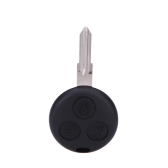 3 botão Fob chave remoto Shell caso para a cidade de Fortour do Smart Fortwo Coupé Cabrio