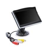 """5 """"Digital TFT LCD samochód Odwrócona Monitor kamery cofania DVD VCR"""