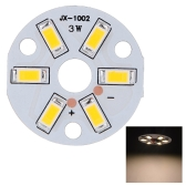 3W redondo 5730 SMD LED Super brillante Chip LED lámpara bombilla DC9-12V