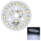 7W Round 5730 SMD 14 LEDs Super Bright LED Chip Light Lamp Bulb  DC21-24V