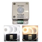 LED照明モーションセンサースイッチ 12-24V DC赤外線PIRライトON OFF【並行輸入品】