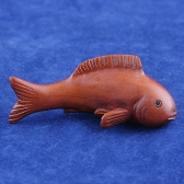 boxwood netsuke fish