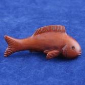Puksipuu netsuke kala