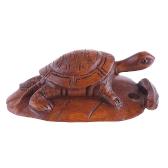 bukszpan netsuke żółwia