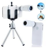 8x ingrandimento Mobile Phone telescopio lente d