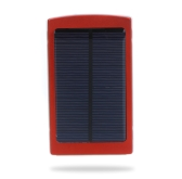 10000mAh External Solar Charger Mobile Power Universal for iPhone iPad Samsung NokiaSmartphones Portable Red
