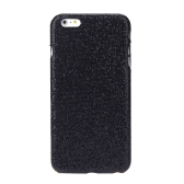 Ultrathin Lightweight Plastic Fashion Shell Case Protective Back Cover for iPhone 6 Plus Paillette Black