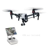 Original DJI T600 inspirar 1 profesional FPV RC RTF Quadcopter con cámara de alta definición de 4K y 3-eje cardán solo transmisor versión
