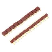 10 ペア T RC Lipo バッテリー ESC のオスとメスのコネクタに差し込みます